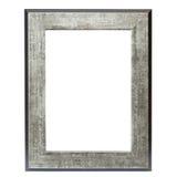 Metallic picture frame royalty free stock photos