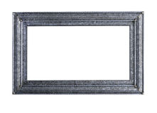 Metallic picture frame Royalty Free Stock Image