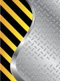 Metallic plate background Royalty Free Stock Photo