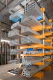 Metallic profiles Royalty Free Stock Images