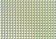 Metallic pyramids wall background Royalty Free Stock Photography