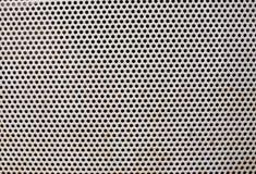 Metallic railing point texture Royalty Free Stock Image