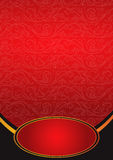 Metallic red background. Seamless metallic pattern background, vector Royalty Free Stock Photography
