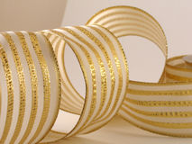 Metallic Ribbon Royalty Free Stock Photography
