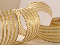 Metallic Ribbon Royalty Free Stock Photography