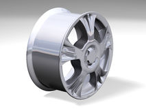 Metallic rim Royalty Free Stock Photos