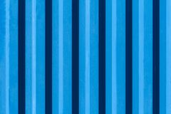 Metallic rippled surface of blue color texture, background Stock Photo