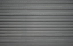 Metallic roller shutter door Royalty Free Stock Photos