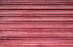 Metallic roller shutter door Royalty Free Stock Photo