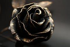 Metallic Rose. Stock Photos
