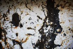 Metallic rusty background Royalty Free Stock Images