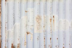 Metallic rusty texture stripe pattern Royalty Free Stock Images