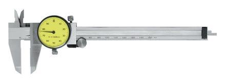 Metallic scale caliper Royalty Free Stock Photo