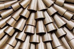 Metallic scales background Stock Image