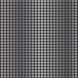 Metallic screw top pattern Stock Photos