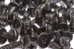 Metallic screws Royalty Free Stock Photo