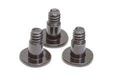 Metallic screws stock photos