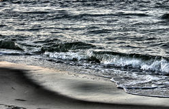 Metallic sea.  royalty free stock photos