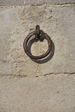Metallic shackle Stock Photography