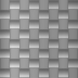 Brushed metal geometric pattern Stock Photo