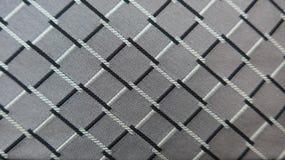 Metallic silver shining fabric Royalty Free Stock Photo