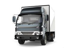 Free Metallic Slate Gray Small Box Truck Royalty Free Stock Photography - 109429977
