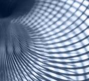 Metallic spiral abstract Stock Photos