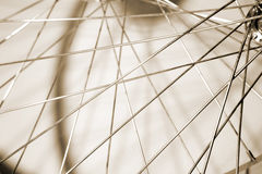 Metallic spokes Royalty Free Stock Images