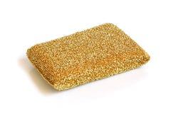 Metallic sponge Stock Image