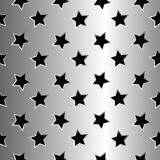 Metallic stars texture Royalty Free Stock Photo
