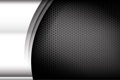 Metallic steel and honeycomb element background texture 004 Stock Photos