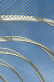 Metallic structure Stock Image