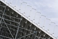 Metallic structure Stock Photos