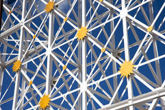 Metallic structure Royalty Free Stock Photos