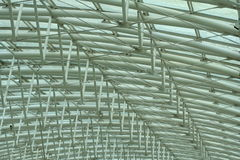Metallic structure stock photo
