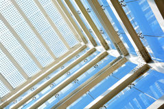 Metallic structure Stock Images