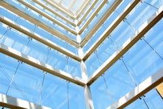 Metallic structure stock photo