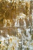 Metallic surface. Old rusted red metallic surface at daylight Royalty Free Stock Photos