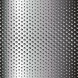 Metallic surface. With embossed circles Stock Images