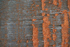 Metallic surface. With rusty paterns royalty free stock image