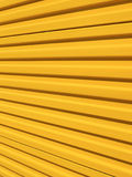 Metallic surface. Yellow metallic surface Royalty Free Stock Photography