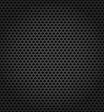 Metallic surface, gray dark background Stock Photography
