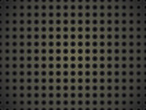 Metallic surface with holes Stock Images