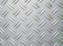 Metallic surface. Weathered metallic surface of a trash bin Royalty Free Stock Images