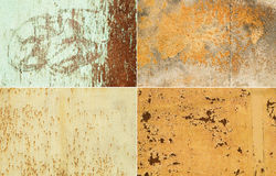 Metallic surfaces Stock Image
