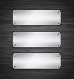 Metallic tablets Royalty Free Stock Images