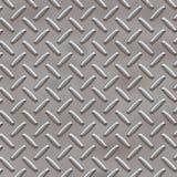 Metallic texture background. Diamond plate metallic texture background - square format Stock Photography