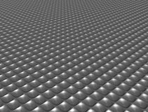 Metallic texture floor. Stainless steel Stock Photography