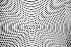 Metallic texture in the form of circles background Stock Photography