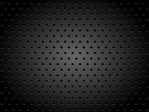 Metallic Texture with Holes Stock Images